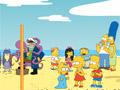 Пляжный волейбол Симпсонов