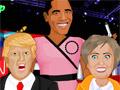 Дональд Трамп против Хиллари Клинтон