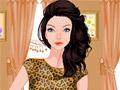 Современная принцесса в салоне красоты