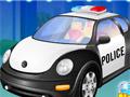 Моем полицейскую машину