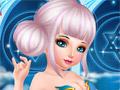 Принцесса фея в салоне красоты