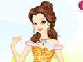Удивительное платье принцессы Бель