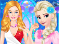 Повседневная мода Барби и Эльзы