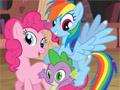 Мой маленький пони: раскраска
