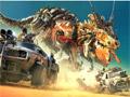 Потерянные части робота динозавра