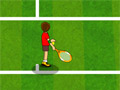 Тренировка звезды тенниса
