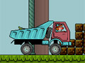 Клоун - водитель грузовика