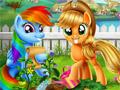 Огород маленьких пони
