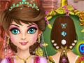 Прическа и макияж для принцессы