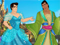 Принцы Диснея в платьях