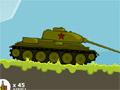 Русский танк против гитлеровской армии