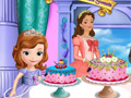 София и королева Миранда во дворце сладостей