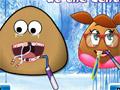 Девушка Поу и Поу у дантиста