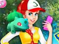 Принцесса - тренер покемонов