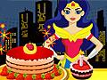 Девушки Супергерои: Украшение торта