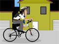 Тестовая езда на велосипеде