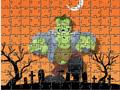 Пазл Франкенштейн на Хэллоуин