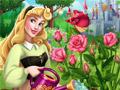 Аврора в розовом саду