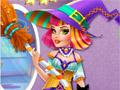 Одри - хэллоуинская ведьмочка