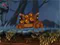 Хэллоуинский транспорт монстров