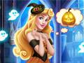 Замок Авроры на Хэллоуин