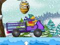 Езда Пуха на медовом грузовике