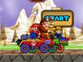 Марио: гонки на военных джипах