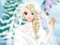 Зимний свадебный образ