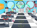 Побег из олимпийского тренировочного зала