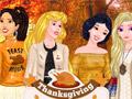 Вечеринка на День благодарения для принцесс