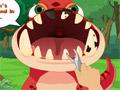 Динозавр Теропод у стоматолога