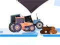 Тракторная езда на Рождество
