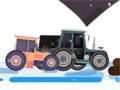 Гонки на рождественском тракторе