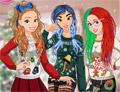 Веселье принцесс в безумных свитерах