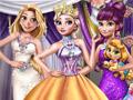 Принцессы на зимнем балу