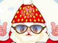 Клубничный Санта готовит и одевается