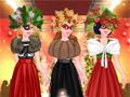 Принцесса на рождественском показе мод