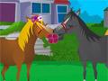 Поцелуи лошадок