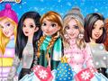 Модные пуховики для принцесс