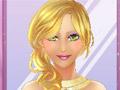 Гламурная принцесса в салоне красоты