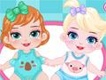 Барби - няня Диснея