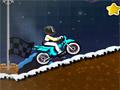 Зимняя опасность на мотоцикле