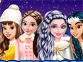 Принцессы катаются на коньках