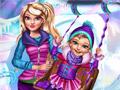 Зимние развлечения принцессы