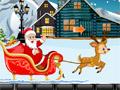 Побег Санта Клауса от медведя