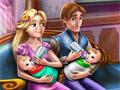 Семейный день с близнецами Рапунцель