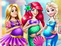 Беременные принцессы Диснея
