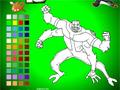 Бен 10: Инопланетяне - Раскраска