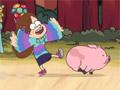 Гравити Фолс: полет свинки