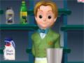 Джеймс - настоящий бармен